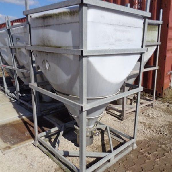 Used 1,000 Litre Bison Plastic IBC's