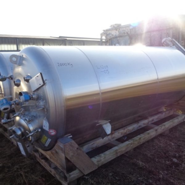 Stainless Steel Tanks Europe 5,000 - 9,999 Litres